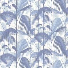 Papier peint jungle bleu Palm Jungle - Cole and Son - Au fil des Couleurs