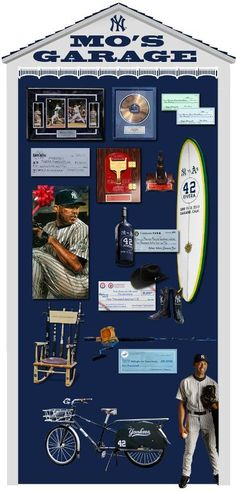 Mariano Rivera - farewell tour gifts...2013 season.