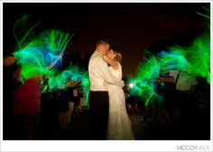glow stick send off Ellington Agricultural Center Wedding // Ann Marie + Derek, Part iii - Mackinac - Northern Michigan Wedding Photography - McCoy Made Photography