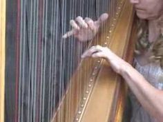 Wagner Wedding March (Here Comes the Bride) on Harp - YouTube