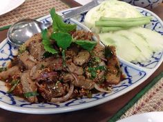 World's most delicious foods: Nam tok moo
