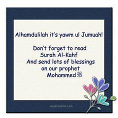 Jumuah mubarak! :)