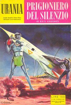 168  PRIGIONIERO DEL SILENZIO 2/1/1958  NO MAN FRIDAY  Copertina di  C. Caesar   REX GORDON