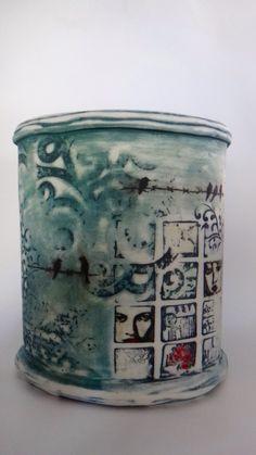Christine Williams-handbuilt porcelain