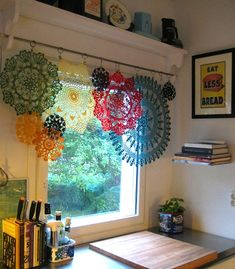 Creative Uses For Old Lace Remnants & Doilies
