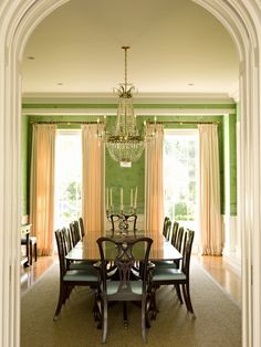 dining by Elizabeth Dinkel http://www.houzz.com/photos/5053699/Brentwood-Regency-Estate-traditional-dining-room-los-angeles