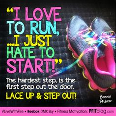 I love to run but...
