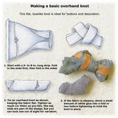 Basic overhand knot