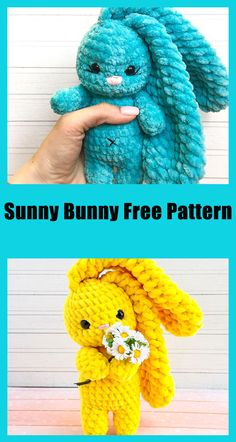 Crochet Gratis, Crochet Dolls, Free Crochet, Crocheted Toys, Half Double Crochet, Single Crochet, Easter Crochet Patterns, How To Start Knitting, Bunny Plush