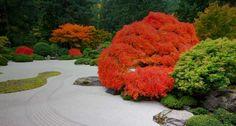 Bing Images - Japanese Garden - The Flat Garden at the Portland Japanese Garden, Portland, Oregon -- Craig Tuttle/Corbis