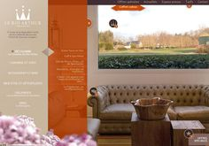 Le Roi Arthur Hotel #website #hotel #webdesign #menu