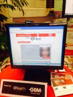 Aplicación de registro con tecnología de biometría facial FacePhi