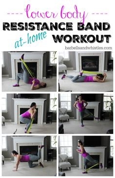 Resistance Band Workout: Leg, Booty and Abs