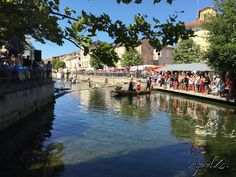 Painting in Provence day 7: Isles-sur-la-Sorgue - Life to the Fullest Extent