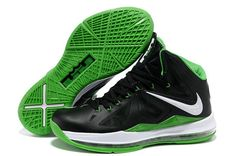 new style f6277 0d92c More and More Cheap Shoes Sale Online,Welcome To Buy New Shoes 2013 Lebron  10 Dunkman Black Green 541100 300  Nike Basketball Shoes - Lebron 10  Dunkman ...