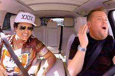 Imagem: Bruno Mars participa de quadro Carpool Karaoke