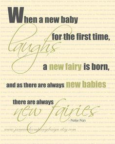 Peter Pan: New Fairies, Childrens Room Decor, Art for Children, Childrens Art, Nursery Art, Wall Art, 8x10 Print typographic on Etsy, $20.00