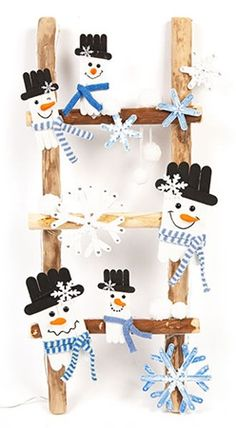 Christmas Crafts For Gifts, Christmas Table Decorations, Christmas Projects, Christmas Fun, Popsicle Crafts, Craft Stick Crafts, Craft Gifts, Diy And Crafts, Crafty Kids