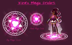 Kira's Magic Circle by Ginagurl123.deviantart.com on @DeviantArt