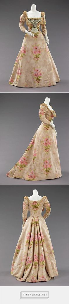 Evening dress by House of Worth ca. 1897 | French | The Metropolitan Museum of Art