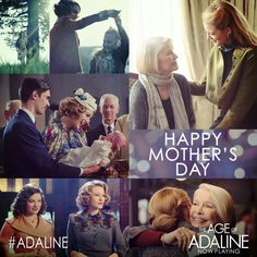 Some bonds are never broken. Happy Mother's Day from The Age of Adaline!