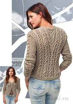Вязание спицами- жакеты,пуловеры,свитера,кардиганы   Записи в рубрике Вязание…