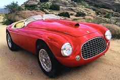 ferrari red barchetta