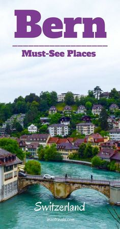 Places to Visit in Bern in 1 Day. If you visit Switzerland´s capital and have only 24 hours in Bern you can still do a lot. Find out what to do in Bern. Switzerland Summer, Switzerland Bern, Cool Places To Visit, Places To Travel, Places To Go, Europe Travel Tips, European Travel, European Vacation, Zermatt