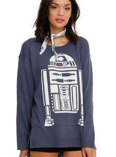 Star Wars Girls Sweater from Hot Topic. Shop more products from Hot Topic on Wanelo. Girls Sweaters, Blue Sweaters, Vetement Star Wars, Moda Geek, Estilo Geek, Star Wars Outfits, Star Wars Girls, Cute Stars, Geek Fashion