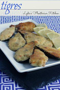 Tigres ~ Croquette Stuffed Mussels ~ Lydia's Flexitarian Kitchen