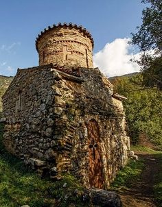 Church of St. Andrew Gortynos (11th century), Dimitsana, Arcadia, Greece | plf-travelphotos.com