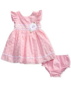 Baby Girl Clothes at Macy's come in a variety of styles and sizes. Shop Baby Girl Clothing at Macy's and find newborn girl clothes, toddler girl clothes, baby dresses and more. Frocks For Girls, Toddler Girl Dresses, Little Girl Dresses, Girls Dresses, Baby Dress Design, Baby Girl Dress Patterns, Baby Frocks Designs, Kids Frocks Design, Kind Mode
