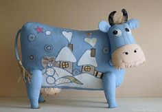 vaca de tela