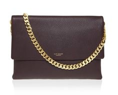 Editor's Pick: A Chic Leather Bag with a Gold Chain Strap | StyleCaster