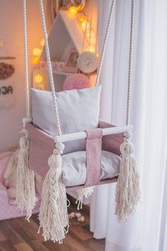 Nursery Prints, Nursery Room, Nursery Wall Art, Girl Nursery, Girls Bedroom, Childrens Swings, Wing Wall, Kids Swing, Old Room
