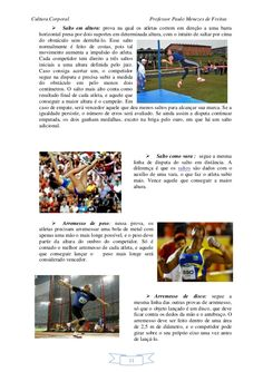 Apostila educação física escolar Irene, Importance Of Physical Education, Track And Field Events, Shot Put, Gymnastics For Kids, Physical Education Lesson Plans