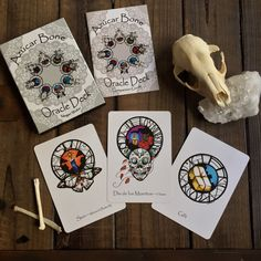 Azúcar Bone Oracle Deck with Companion Book First Edition