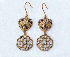 Flora  Italian Vintage Jewelry Swarovski di SmeraldaVintage