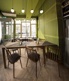 Eddy Spaghetti Restaurant by Studio Modijefsky, Amsterdam – The Netherlands » Retail Design Blog