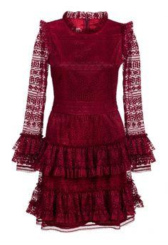 Rich red color dress / lace dress  https://sklep.bizuu.pl/files/cache/a/3/rtw_435x0_a3bf02570edb5aae12c6963f342d7b941511948521.jpg