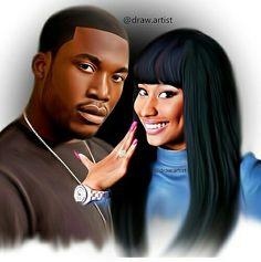 Nicki Minaj x Meek Mill #art