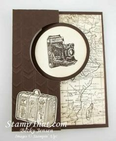 2015   the World Map and Traveler stamp sets.