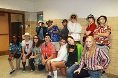 school spirit outfit tacky tourist - Google Search