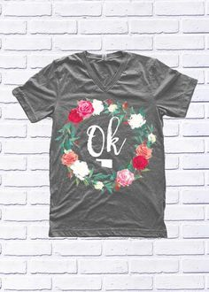 OKLAHOMA: Flower Wreath (Shortsleeve / Tank) | Calamity Jane's Apparel