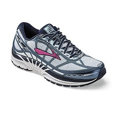 5f572831ffd Brooks Womens Dyad 8 MidnightStormFuchsia 12 B -- Learn more by visiting  the image link