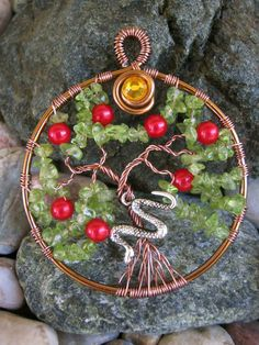 Apple Tree with snake Pendant... (I would leave out the snake)