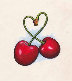 Cherries tattoo idea...