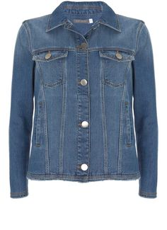 Indigo Denim Western Jacket
