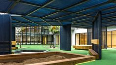 sand pit. Gallery of Tales CBD Kindergarten Renovation / Spacework Architects - 6
