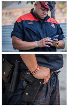 Per a això volíem una policia catalana? Per cert, ara es dediquen a anar mirant el mòbill tothora, igual que les policies municipals i d'altres. Semblen nanos.
